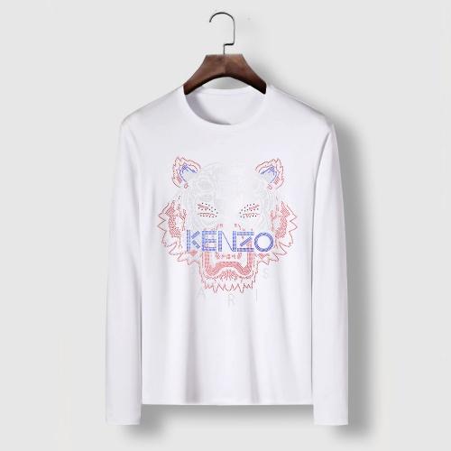 Cheap Kenzo T-Shirts Long Sleeved For Men #910691 Replica Wholesale [$34.00 USD] [W#910691] on Replica Kenzo T-Shirts