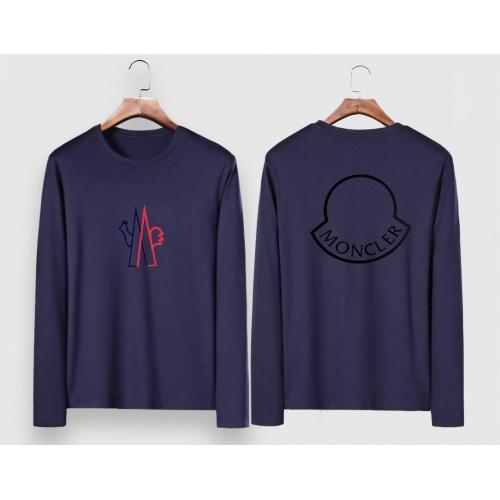 Cheap Moncler T-Shirts Long Sleeved For Men #910700 Replica Wholesale [$34.00 USD] [W#910700] on Replica Moncler T-Shirts