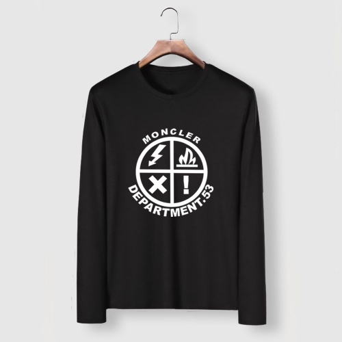 Cheap Moncler T-Shirts Long Sleeved For Men #910713 Replica Wholesale [$34.00 USD] [W#910713] on Replica Moncler T-Shirts