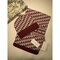 Christian Dior Woolen Hat & Scarf #911311