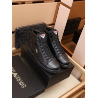 Armani High Tops Shoes For Men #912639