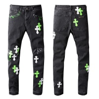 Chrome Hearts Jeans For Men #913230