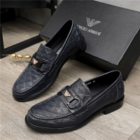 Armani Leather Shoes For Men #913807