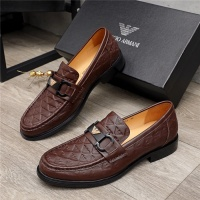 Armani Leather Shoes For Men #913808