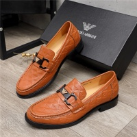 Armani Leather Shoes For Men #913809