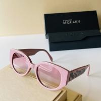Alexander McQueen AAA Quality Sunglasses For Women #921449
