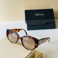 Alexander McQueen AAA Quality Sunglasses For Women #921451