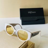 Alexander McQueen AAA Quality Sunglasses For Women #921452
