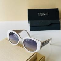Alexander McQueen AAA Quality Sunglasses For Women #921454