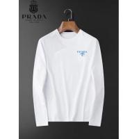 Prada T-Shirts Long Sleeved For Men #923744