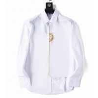 Versace Shirts Long Sleeved For Men #923975